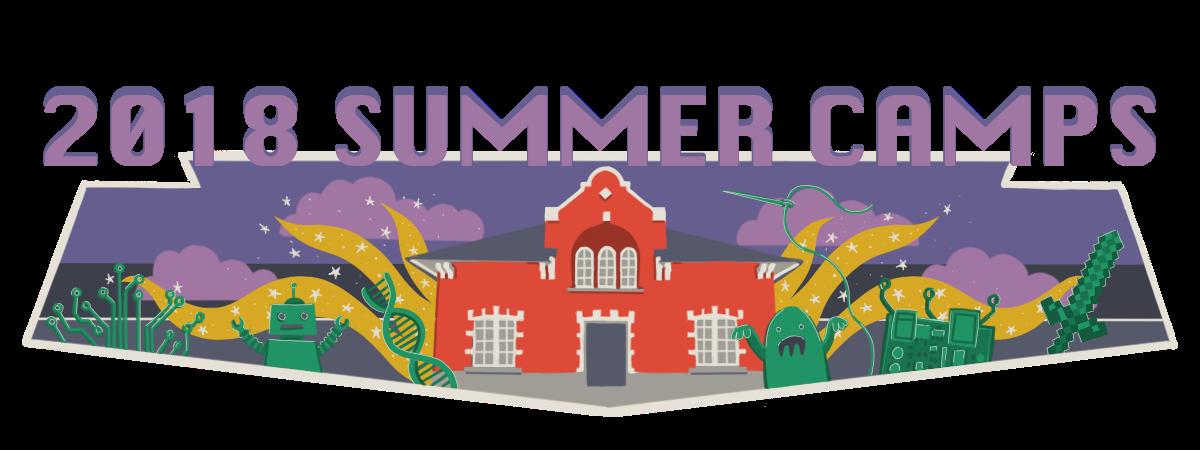 2018 Summer Camps Banner