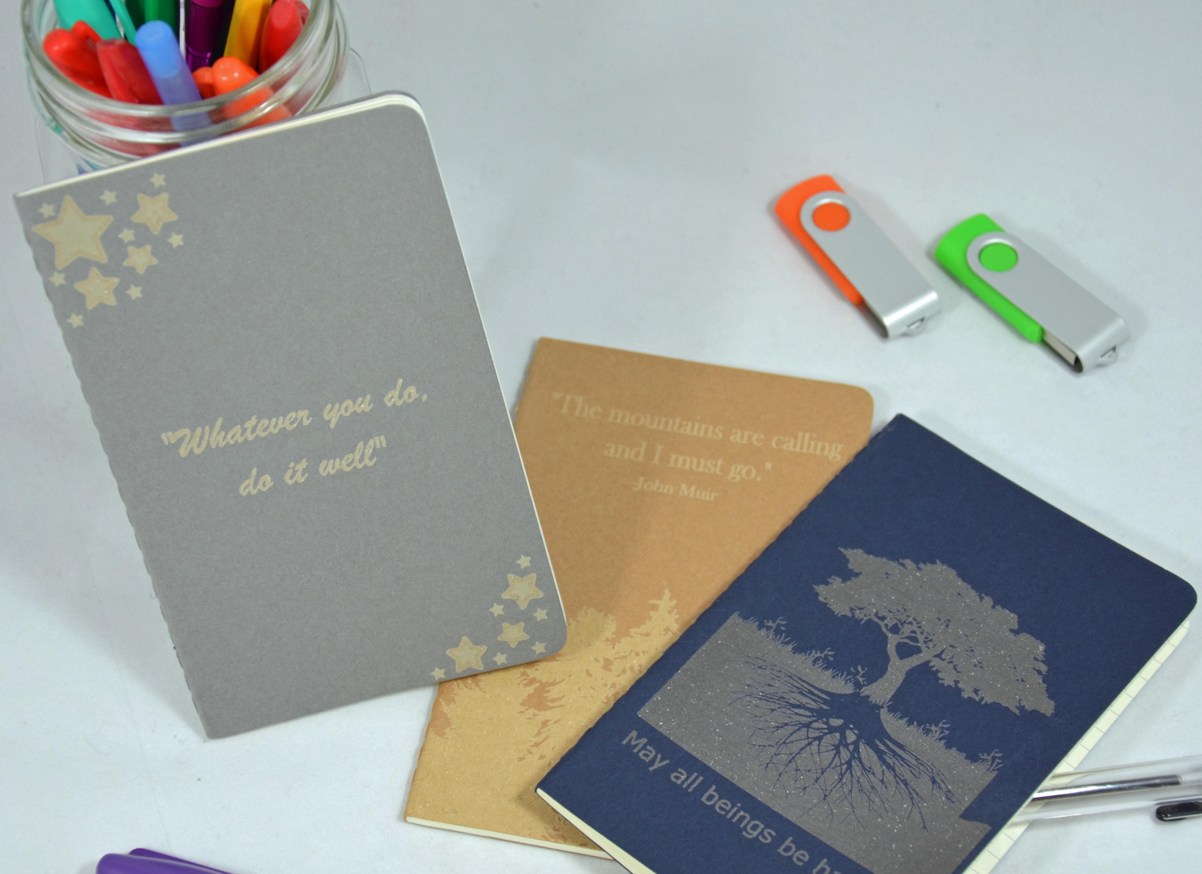 Laser notebooks