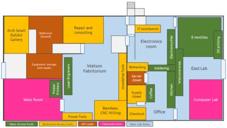 Fab Lab Map