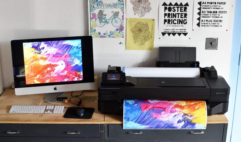 HP T120 Poster Printer
