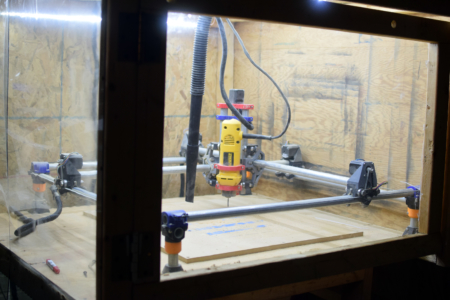 Mostly-Printed CNC Milling Machine