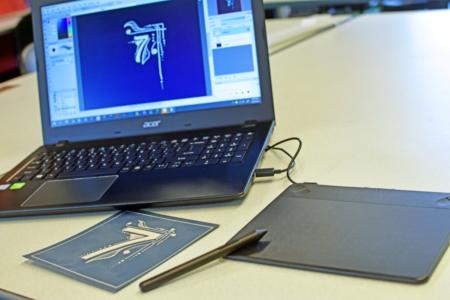 Wacom Digital Drawing Tablet