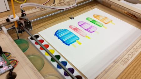 Water Color Robot