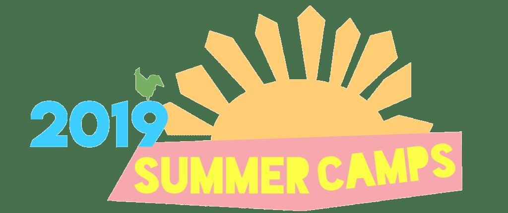 2019 Summer Camps Banner